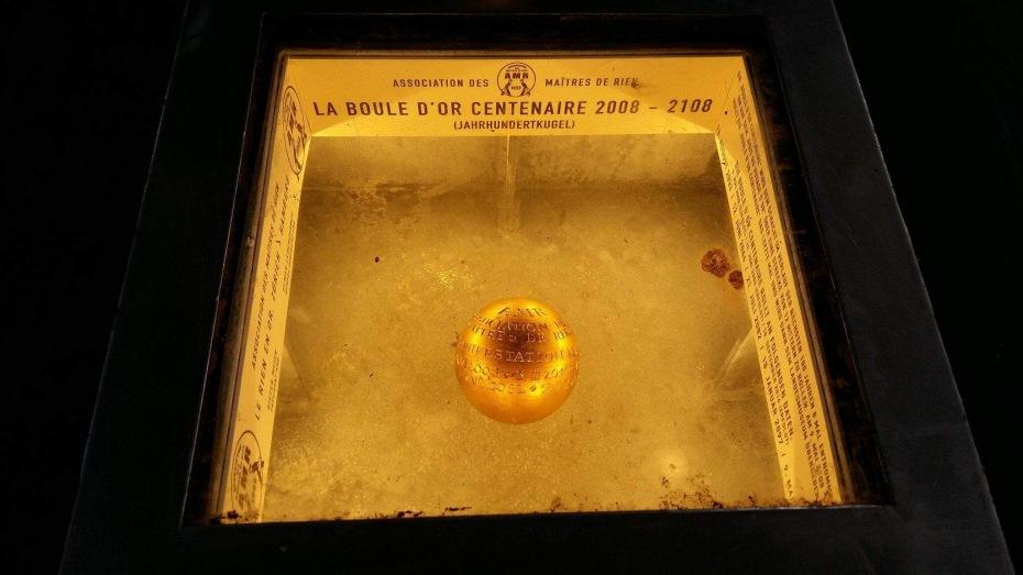 La Boule d'Or Centenaire