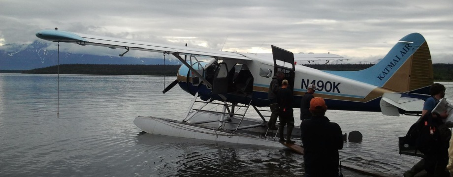 Katmai Air at Brooks Lodge Alaska
