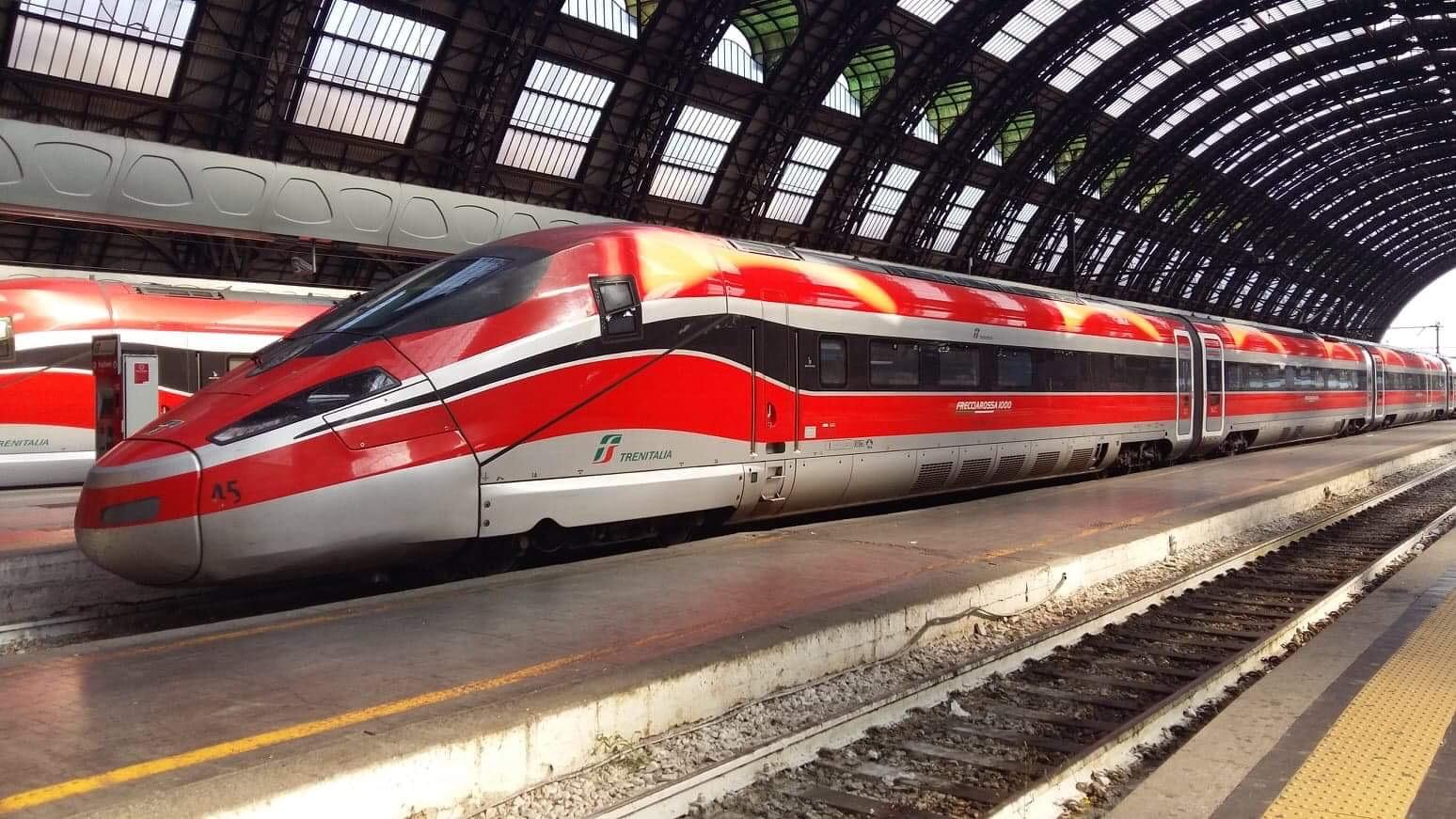 Frecciarossa Train Italy