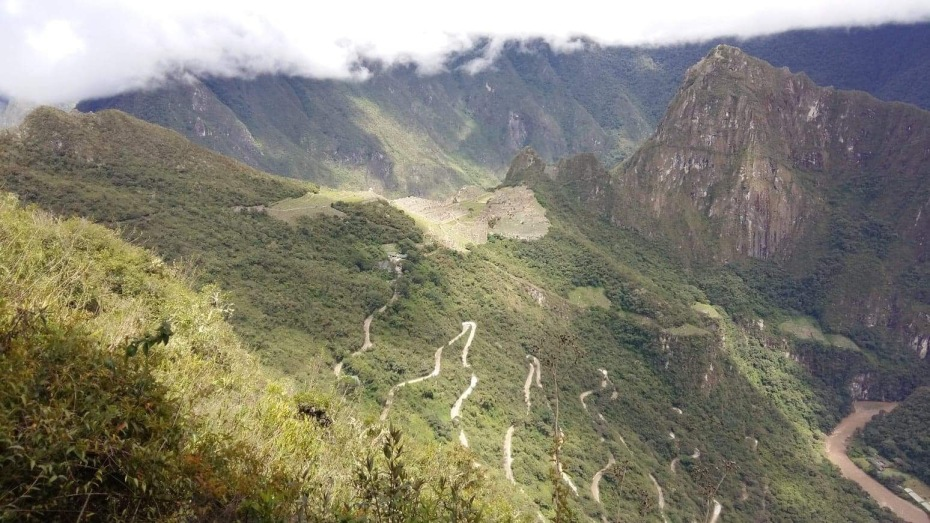 Serpentine Road to Machu Picchu