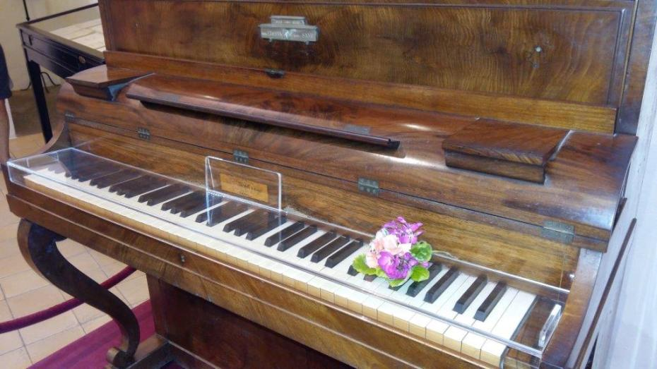 Piano of Frédéric Chopin in Valldemossa