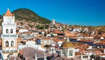 Sucre The Capital Of Bolivia Rolandomio Travel