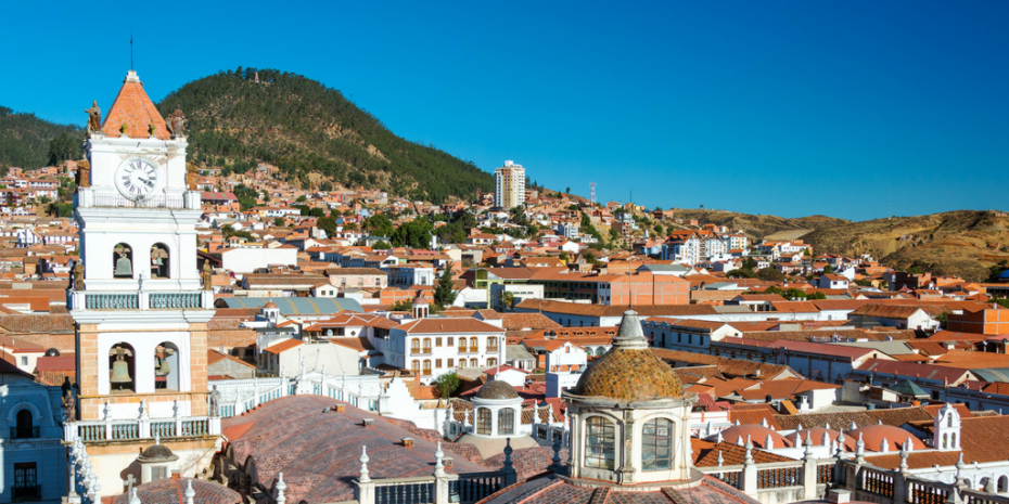 Sucre, the Capital of Bolivia