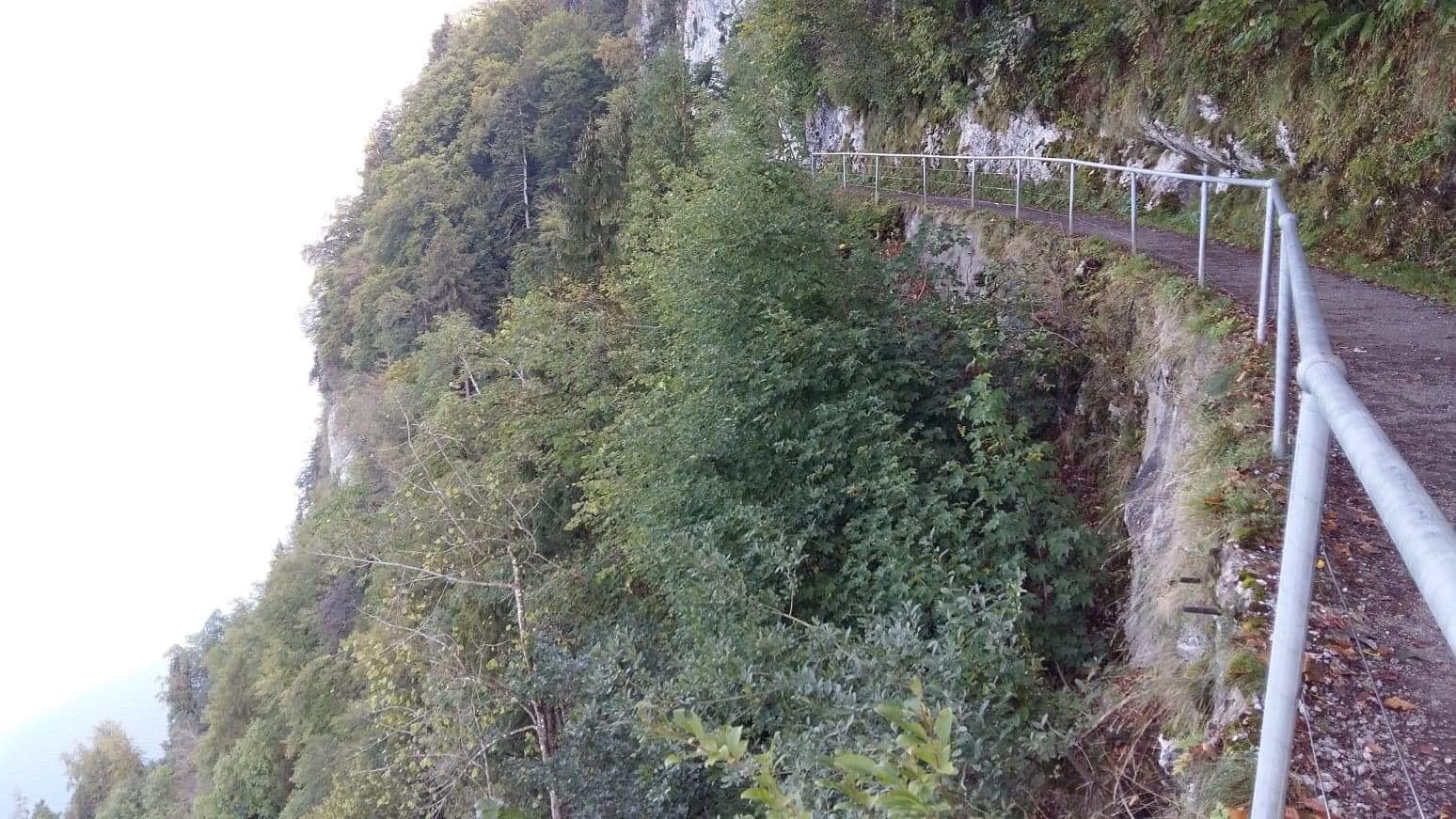 Footpath to Hammetschwand Lift