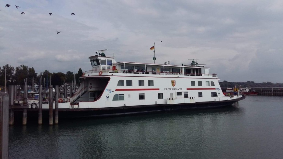 Ferry Romanshorn to Friedrichshafen
