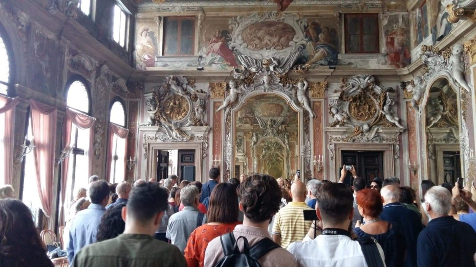 """Salone degli Specchi, Palazzo Zenobio """"Art Escape 2018"""""""