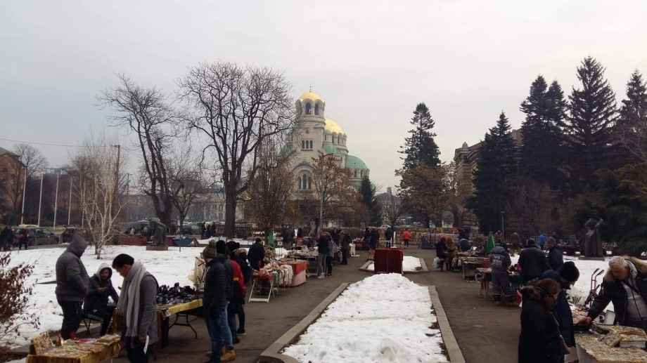 Flea Market Sofia Bulgaria