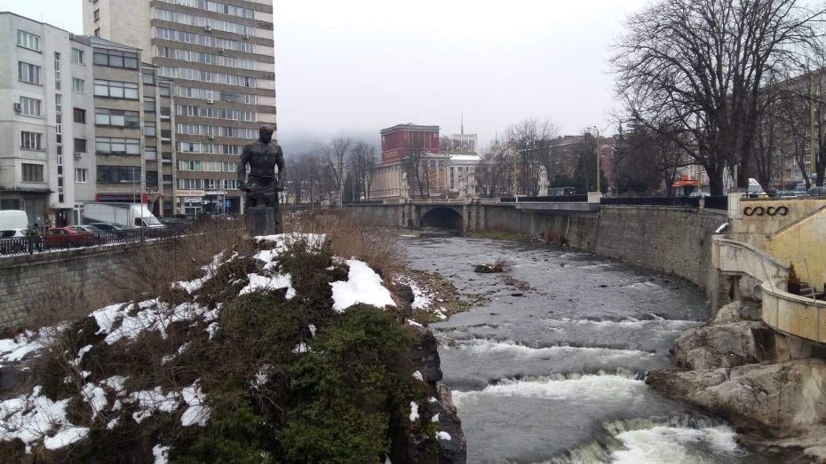 River Jantra in Gabrovo