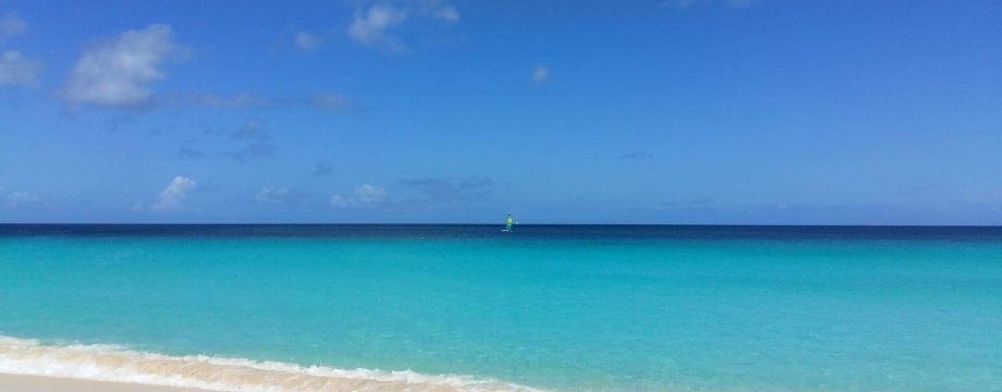 Meads Bay Anguilla in front of Carimar Beach Club