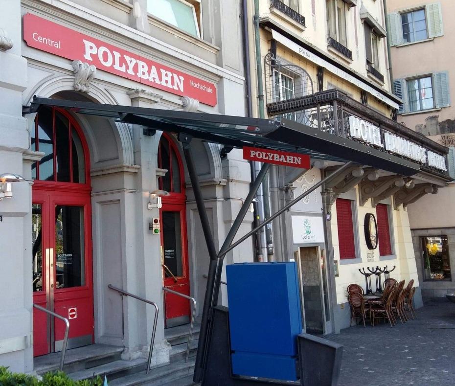Bottom Station Polybahn, Central Zurich