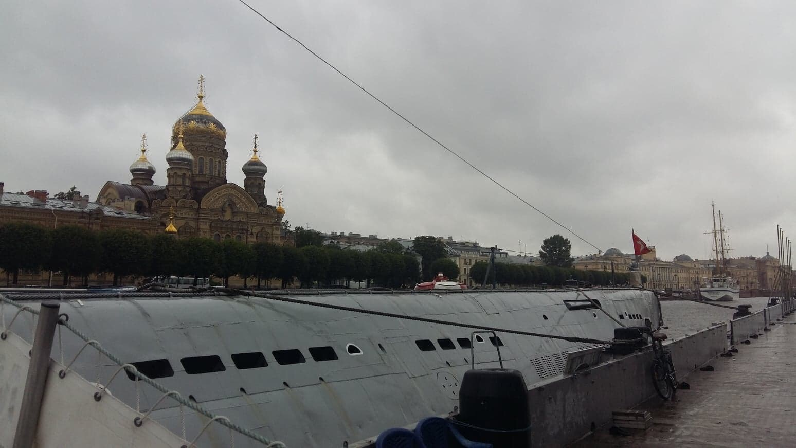 Lieutenant Schmidt Kai in Saint Petersburg