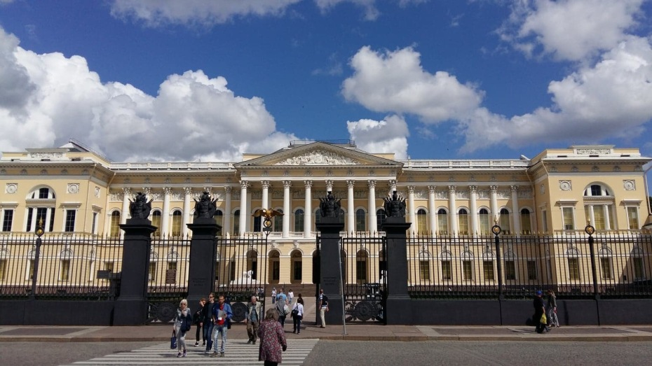 The Mikailovsky Palace in St. Petersburg