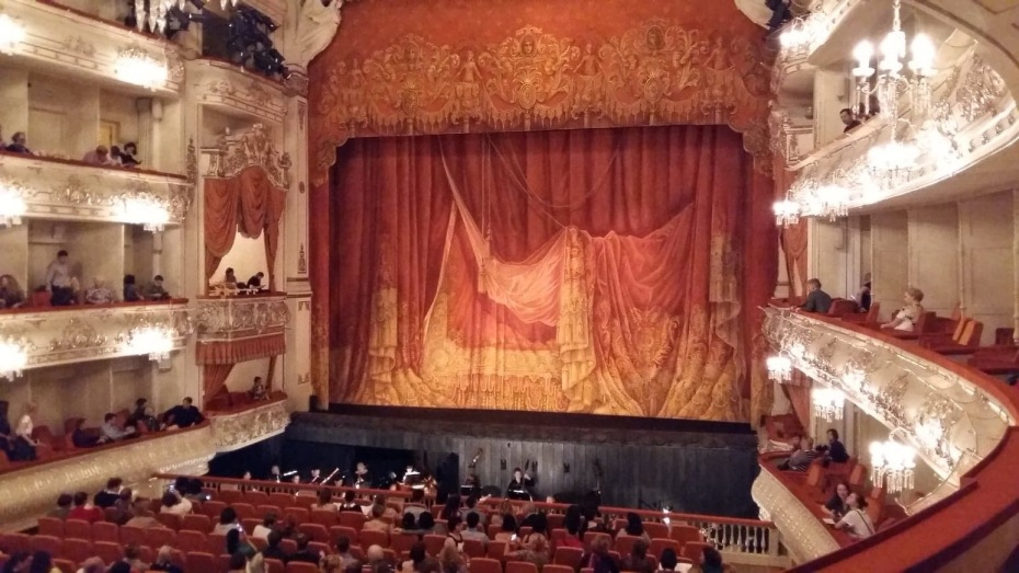 Mikhailovsky Theater in St. Petersburg