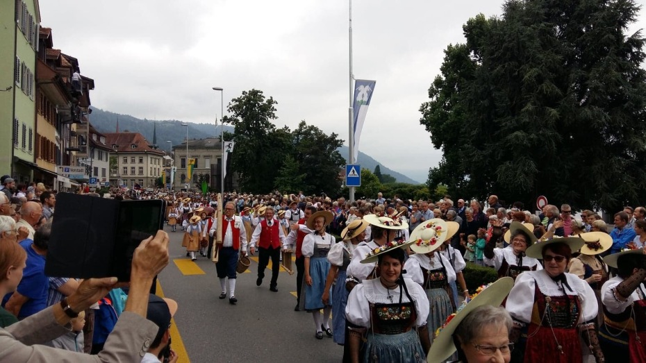 Parade in Zug