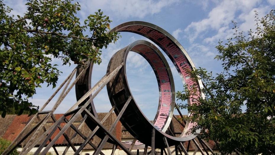"""Bildstein & Glatz """"The Loop"""" Installation in the Kartause Ittingen, Thurgau"""